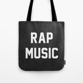 Rap Music Tote Bag