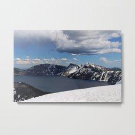 Winter-Crater Lake, Oregon Metal Print