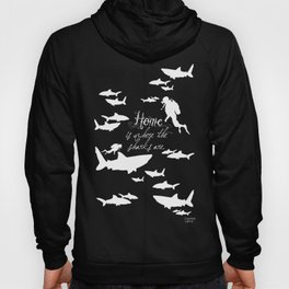 Home is where the sharks are! Hoody