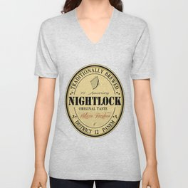 Lovely day for a Nightlock Unisex V-Neck