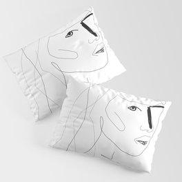 Face Of Art Pillow Sham