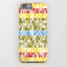 Hexagon pattern Slim Case iPhone 6s