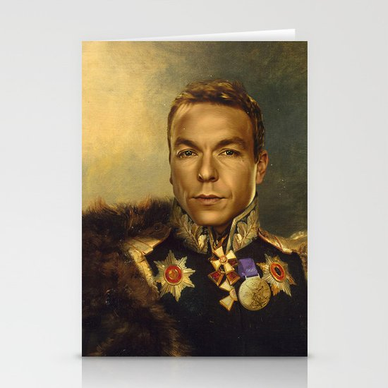 Sir Chris Hoy - replaceface Stationery Cards