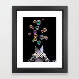 WE ALL FLOAT AWAY Framed Art Print
