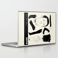 data Laptop & iPad Skins featuring Decommissioned: Data by Josh Ln