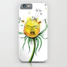Angry Flower Whimsical Art iPhone 6s Slim Case