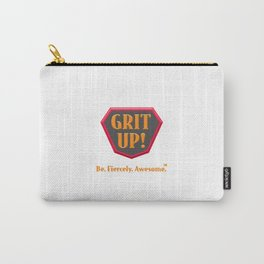 Grit Up Logo Carry-All Pouch