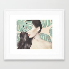 Monstera Suara Framed Art Print