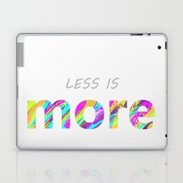 Less is more. Laptop & iPad Skin