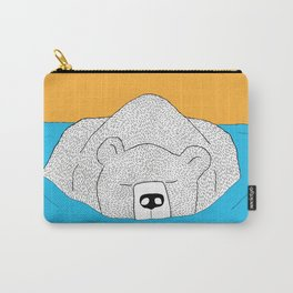 Bear in Water Carry-All Pouch