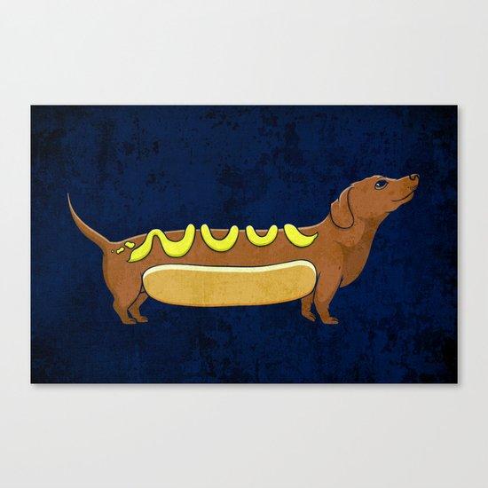 Wienerdog Canvas Print