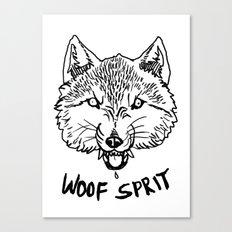 Woof Sprit! Canvas Print
