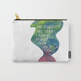 Thoughts Are Constellations Carry-All Pouch
