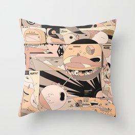 brrrommbbrr Throw Pillow