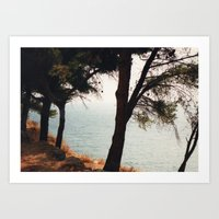greece Art Prints featuring Greece by Nicky Severein