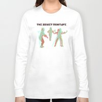 soviet Long Sleeve T-shirts featuring The Soviet Mixtape by Jorge Soriano