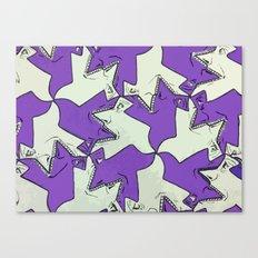 Tessel-Man Canvas Print