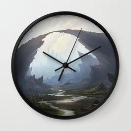 Rocky pass Wall Clock