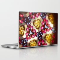 kaleidoscope Laptop & iPad Skins featuring Kaleidoscope by ADH Graphic Design