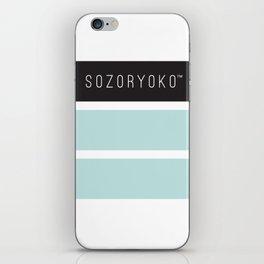 Sozoryoko Original Branding - Local Vancouver Brand iPhone Skin