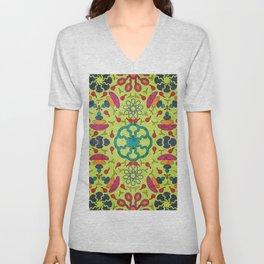 Colorful Mandala #05 Unisex V-Neck