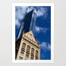 'Chicago Architecture' Art Print