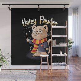 Hairy Pawter Wall Mural