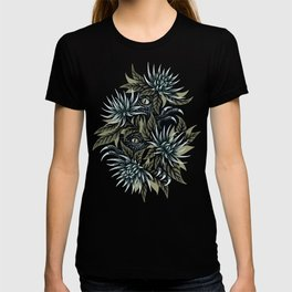 Hidden Creatures - Grey / Khaki T-shirt