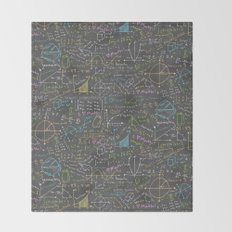 Math Lessons Throw Blanket