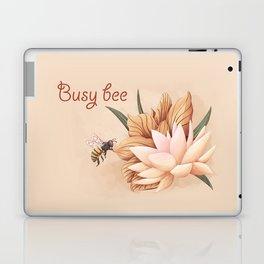 Full bloom | Busy bee Laptop & iPad Skin