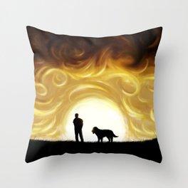 The Same Sun Throw Pillow