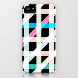 Weaving Soft Light in Black iPhone Case