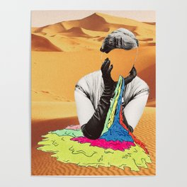 Deserts of my Mind Poster