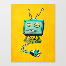 Edna TV Canvas Print