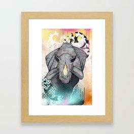 Stampede Part 2 Framed Art Print