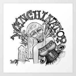 Wenchinator Art Print