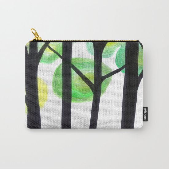 blacks trees Carry-All Pouch