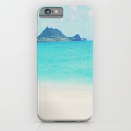 Kailua beach- Oahu iPhone Case