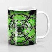 emerald Mugs featuring Emerald by Erin Brekke Conn