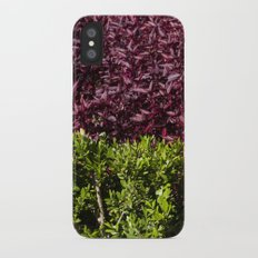 colorful leaves Slim Case iPhone X