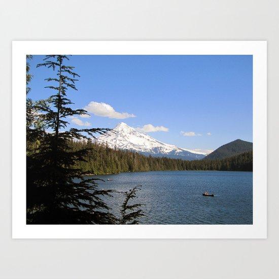 Lost Lake Art Print