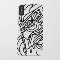 garrus iPhone & iPod Cases featuring Garrus by Cat Milchard