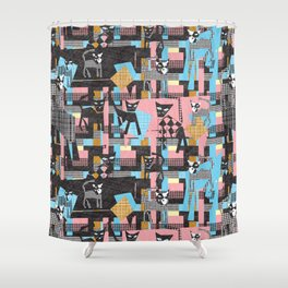 Picasso's cats Shower Curtain