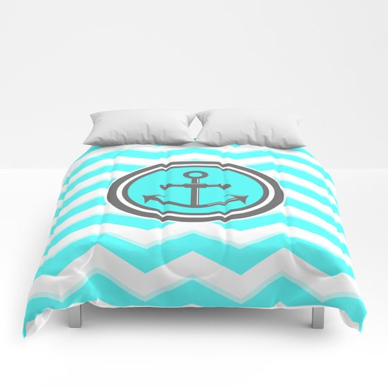 Chevron Anchor Comforters