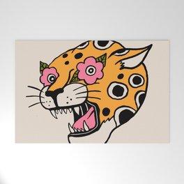 Cheetah Welcome Mat
