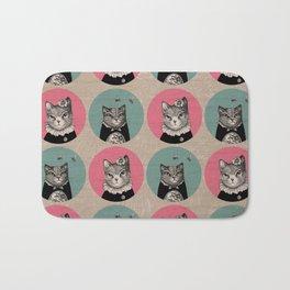 Cats Print Bath Mat