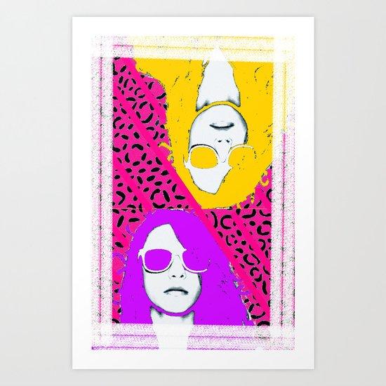 Frame the FAME - Shirane Art Print