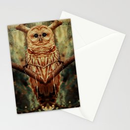 Celestial beings Stationery Cards