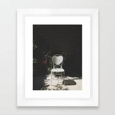 Sit and enjoy Framed Art Print