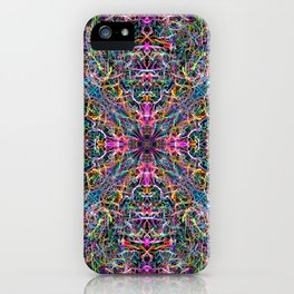 Abstract Threads of Color iPhone Case